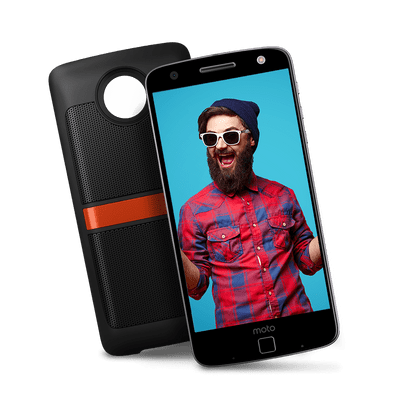 Moto Z Power & Sound Edition Preto