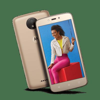 Moto C Plus 8GB - Ouro